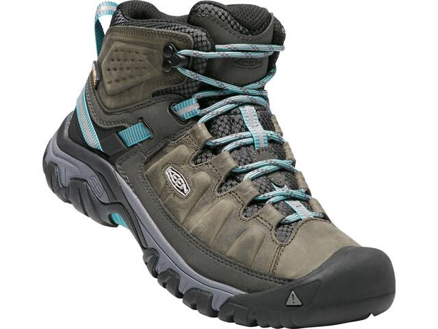 2c14f4c9 Keen Targhee III Mid WP Shoes Damer, alcatraz/blue turquoise | Find ...